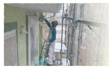6.外壁塗装(3回塗り)